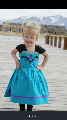 Inspired Elsa coronation dress
