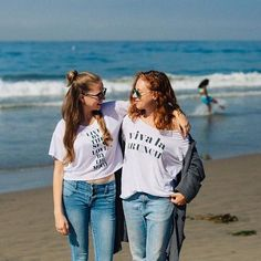 Spending Sunday in our Live By The Sea and Viva La Brunch tees  #sunday #brunch  @claireleahy