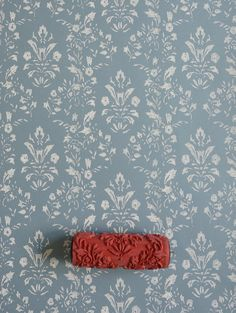 Damask Patterned Paint Roller No.27 from by patternpaintrollers                                                                                                                                                                                 Mais