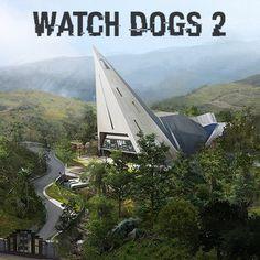 WATCH DOGS 2 - NEW DAWN CHAPEL , Nacho Yagüe on ArtStation at https://www.artstation.com/artwork/N8gJq