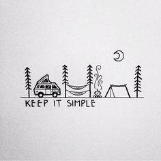 Verlangen naar een simpel leven