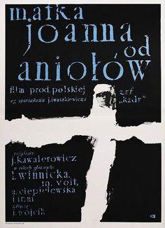 """Waldemar Świerzy, Plakat do filmu """"Matka Joanna od Aniołów"""", 1961"""