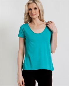 Relaxed supima cotton tee