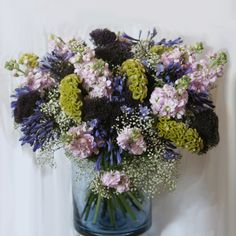 Blue Flowers Bouquet, Floral Wreath, Wreaths, Home Decor, Homemade Home Decor, Door Wreaths, Deco Mesh Wreaths, Garlands, Floral Arrangements