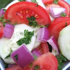 Cucumber, Tomato, and Red Onion Salad - Allrecipes.com