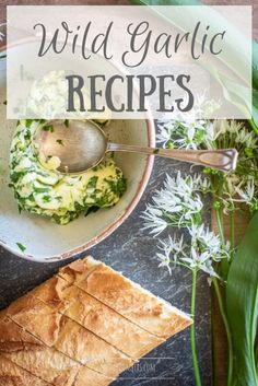 This collection of wild garlic recipes is a great place to start if you need some tasty inspiration this coming spring. I feel like a coiled spring, ready to get planting in the garden,. Garlic Recipes, Pasta Recipes, Garlic Ideas, Frugal Recipes, Appetizer Recipes, Vegetable Recipes, Vegetarian Recipes, Delicious Recipes, Healthy Recipes