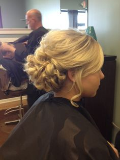 Color & Prom Updo 2013