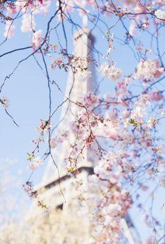 I love Paris in the springtime.