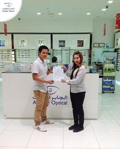 Congrats again Ronald ! It was nice to meet you at our Shop in Abu Dhabi Mall! Enjoy your voucher!  مبروك مرة ثانية رونالد! سعدنا بلقائك في فرعنا الموجود في ابوظبي مول!  #Aljaber_optical #AbudhabiMall #winner #prize #competition #chanllenge #answers #UAE #Dubai #Sharjah #Abudhabi #Alain #RAK #health #Beauty #Fashion   #الجابر_للنظارات #نظارات #فائز #ابوظبي_مول #مسابقة  #الإمارات #دبي #الشارقة #أبوظبي #العين #راس_الخيمة #صحة #موضة
