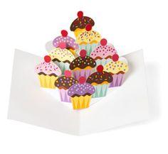 Pop-up Cucakes Note Cards. Robert Sabuda & Matthew Reihart. Who wouldn't want a cupcake note card?