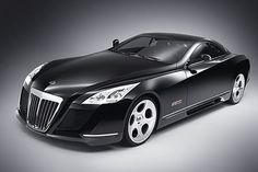 The Maybach Exelero, believe it or not it goes zero to 62 mph in just 4.4 seconds and a top speed on 218 mph.