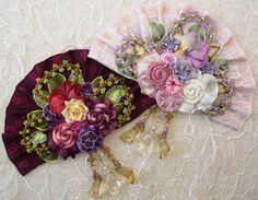Ribbonwork brooch-Another stunning Helen Gibb kit!
