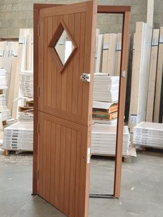 Hardwood Stable Doors are made from solid mahogany timber. This 2 part door is hinged on 4 100mm stainless steel heavy duty hinge's. Available from our Showrooms and online.