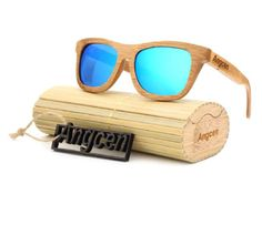 a9d5300474 These polarized vintage bamboo sunglasses are lightweight, smooth to touch,  and encourage a eco