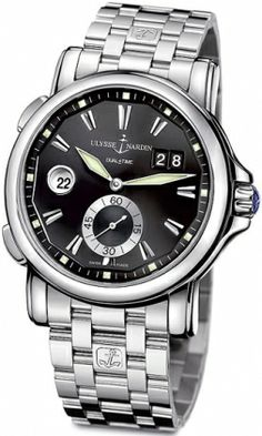 Ulysse Nardin GMT Big Date 42mm 243-55-7/92 RRP: USD $8,300