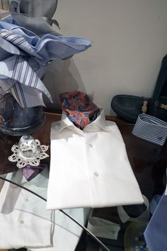 Anna Matuozzo Bespoke Shirts, Men's Shirts, White Shirts, Men's Fashion, Anna, Shirt Dress, Mens Tops, Dresses, Man Fashion