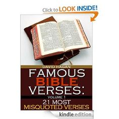 "#28 Famous Bible Verses: ""21 Most Misquoted Verses"""