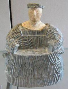 Bactrian chlorite composite figurines