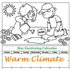 May Gardening Calendar for Warm Climates. For seed giveaways, daily tips and plant info, come join us on facebook! https://www.facebook.com/thegardengeeks