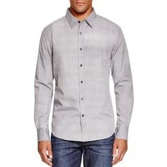 Sovereign Code Homecoming Regular Fit Button Down Shirt ($47) ❤ liked on Polyvore featuring men's fashion, men's clothing, men's shirts, men's casual shirts, grey, mens button up shirts, mens gray button down shirt, mens casual button down shirts, mens grey shirt and mens grey button up shirt
