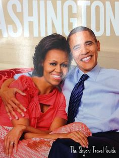 President Obama and First Lady Michelle on cover of Washingtonian Magazine
