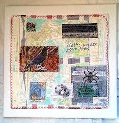 Framing textile art guidelines by Anne Kelly