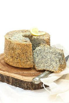 chiffon cake lemon and poppy seeds  #chiffoncake #torte #limone #trattoriadamartinablog