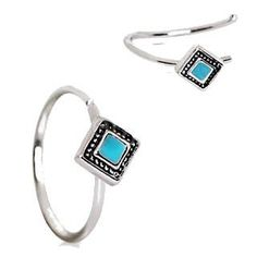 Awesome New Arrival: 316L Stainless St... Check it out here! http://fashionhutjewelry.com/products/316l-stainless-steel-rhombus-cut-turquoise-nose-hoop-cartilage-earring?utm_campaign=social_autopilot&utm_source=pin&utm_medium=pin