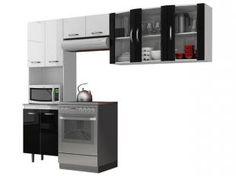 Cozinha Tridimensional 9 Portas - Aramóveis