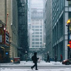 Fabulous Street Shots of Chicago by Kameron Sears #photography #urban #Chicago