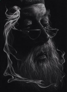 Portrait Mastery Pencil Portrait Mastery - Just white pencil on black paper. - Discover The Secrets Of Drawing Realistic Pencil Portraits Discover The Secrets Of Drawing Realistic Pencil Portraits