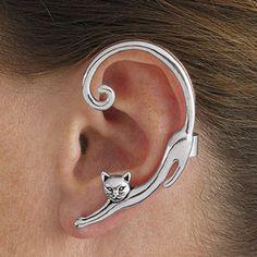 1 unidades Helix oreja manguito 3 anillos Design ohrclip Fake piercing plata 925 Ø 9