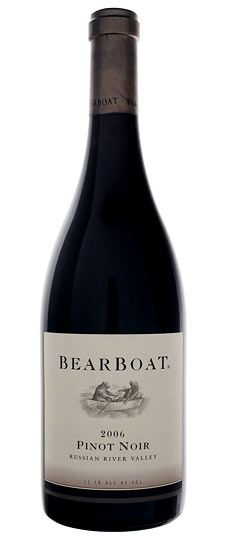 Bearboat Pinot Noir...one of my favorites