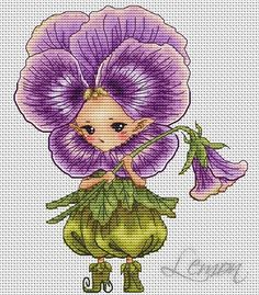 "ru / Fénykép # 157 - A cég ""Lena Lawson Needlearts"" - Cross Stitching, Cross Stitch Embroidery, Cross Stitch Patterns, Cross Stitch Fairy, Christmas Embroidery Patterns, Drawing Sketches, Drawings, Unicorns And Mermaids, Anime Child"