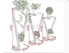 Cheap Flower Stand Plant Shelves Multi-layer Plant Stand Flower Pot Rack Stand Home Indoor Flower Bonsai Display Shelf - AliExpress Mobile Iron Furniture, Steel Furniture, Home Decor Furniture, House Plants Decor, Plant Decor, Diy Garden Decor, Diy Home Decor, Inside Plants, Cheap Flowers