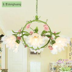 grün pastoral blumen wohnzimmer hängelampe modernes esszimmer zum