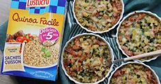 """750g vous propose la recette """"Mini gratin de quinoa, courgette, lardons, crème fraîche et comté"""" accompagnée de sa version vidéo pour cuisiner en compagnie de Chef Damien et Chef Christophe."""