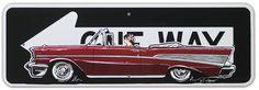 Custom Road Signs - SIN Customs - Hot Rod Car Art