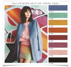 Fall/Winter 2015 UC Fresh Take from Design Options forecasting company via Fashion Vignette blog