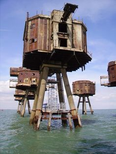 ON THE ITINERARY: Maunsell Sea Forts, England