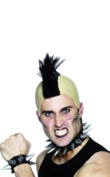 Add some punk style for an awesome 70s fancy dress costume...(£5.29)