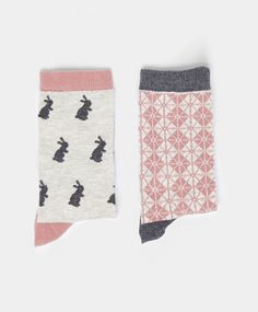 Pack of rabbit socks - OYSHO