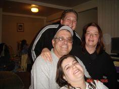 Chris, Teri, Tonia and Dad