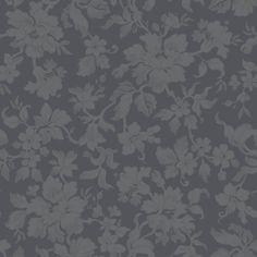 Boråstapeter Lovisa Black Wallpaper main image