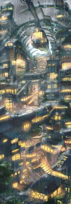 Ciudad del futuro por Dlkdhy