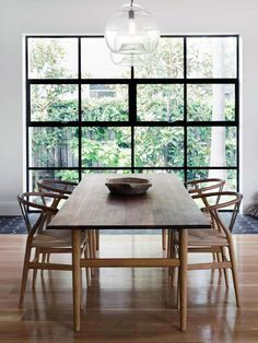 Related posts: DIY Husky Modern Dining Table Wonderful Dining Rooms With Small Functional Dining Tables 75 Modern Farmhouse Dining Room Decor Ideas 45 Bay Window Ideas with Modern Interior Design Dining Room Table Decor, Dining Table Design, Dining Room Lighting, Dining Room Furniture, Dining Tables, Dining Rooms, Wood Table, Dining Area, Natural Wood Dining Table