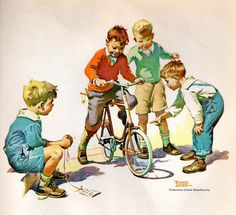 The Birthday Bike – For A Good Boy. Frances Tipton Hunter