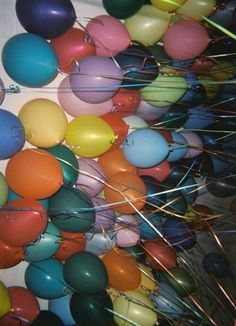 Image about balloons in Grunge by jaaaymee on We Heart It Photo Wall Collage, Picture Wall, Retro Aesthetic, 16th Birthday, Birthday Parties, Aesthetic Pictures, Wall Prints, Aesthetic Wallpapers, Party Themes
