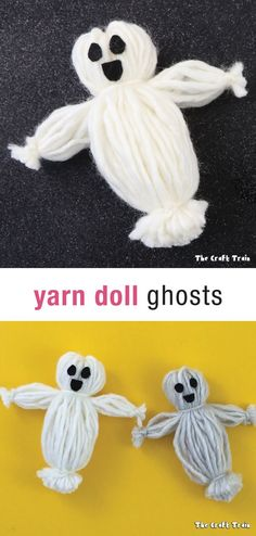 Yarn doll ghosts