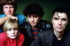 See Talking Heads pictures, photo shoots, and listen online to the latest music. 80s Music, Good Music, Kinds Of Music, Music Is Life, Remain In Light, Post Punk, Great Bands, Pop Group, Rock N Roll